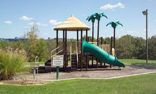Branson cabin photo - Playground for the kids to enjoy. Kids activities at the resort too.