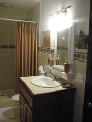 Roatan house photo - Main bathroom - there are two more not shown off two bedrooms