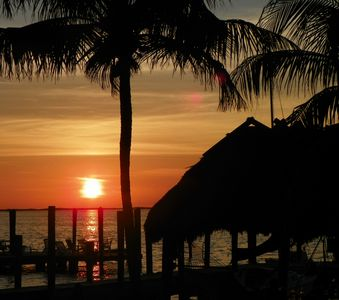Experience the lovely Key Largo sunsets right on our property...
