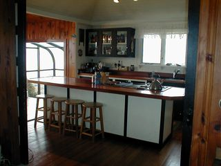 Harpswell house photo - Kitchen in Larger Cottage