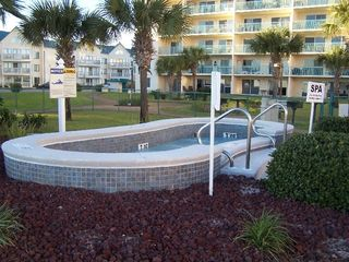 Fort Morgan condo photo - One of 2 outdoor hot tubs