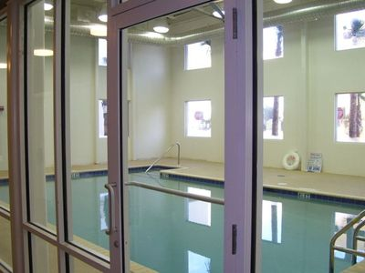 Nice indoor pool, just incase!