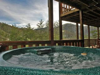 Melt Away Your Stress While Taking In The Mountain Views - Pigeon Forge cabin vacation rental photo
