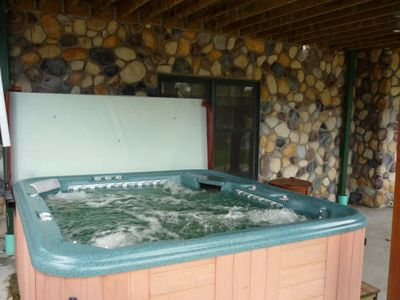 Deer Haven's Relaxing Private Hot Tub (liability purposes not used Nov-May)