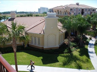 Clubhouse from Balcony