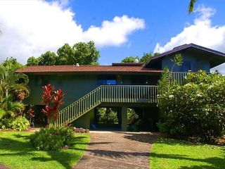 Hanalei house photo - Front view. Quiet cul de sac. Spacious, immaculate.