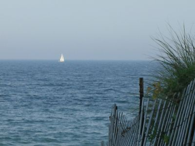 Sailing in Front of House
