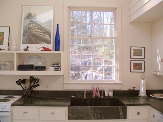 kitchen sink - Cushing house vacation rental photo
