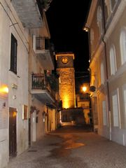 Treglio house photo - A night time stroll through the streets of Rocca San Giovanni