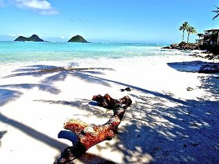 Lanikai house photo - A secluded white sand beach awaits you.