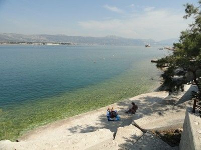Trogir apartment rental - beach, 60 meters from house