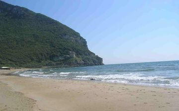 mount circeo and the sea