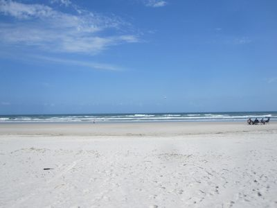 Miles of white sand beach
