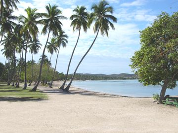 Boqueron public beach. Three years a Blue Flag beach.