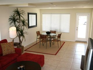 South Padre Island house photo - Lower unit - Living and Dining area