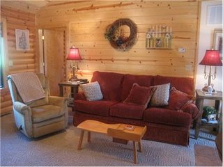 Branson cabin photo - Great gathering space for visiting or playing games.