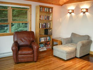 Lake Placid house photo - Great place to read or just hang out!