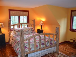 Lake Placid cabin photo - Guest Bedroom with Queen