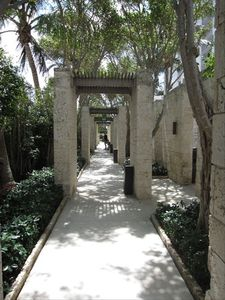 Walkway to the Pool