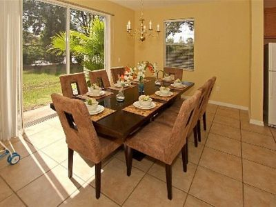 Paradise Cay townhome rental - Dining Room Seating for 8 People