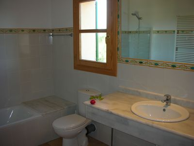Son Serra de Marina villa rental - 1 OF THE 3 BATHROOMS