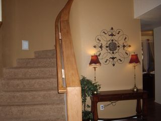 Stairs to upper level - Gilbert house vacation rental photo
