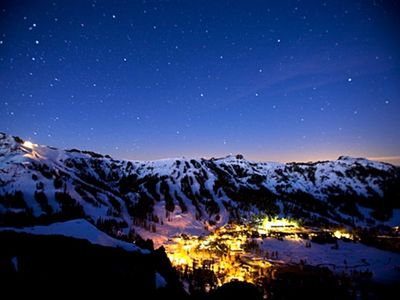A beautiful shot of Kirkwood Valley Ski Resort.