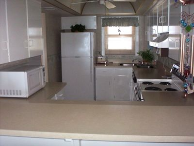 Full Kitchen Furnished with everything you need