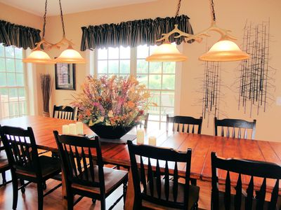 Dining room seats 14