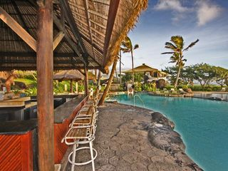 Tiki Bar and Waterfall Pools all viewable from your balcony ! - Lihue hotel vacation rental photo