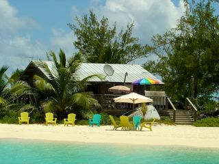 Great Exuma villa photo - Chat n Chill beach bar at Stocking Island
