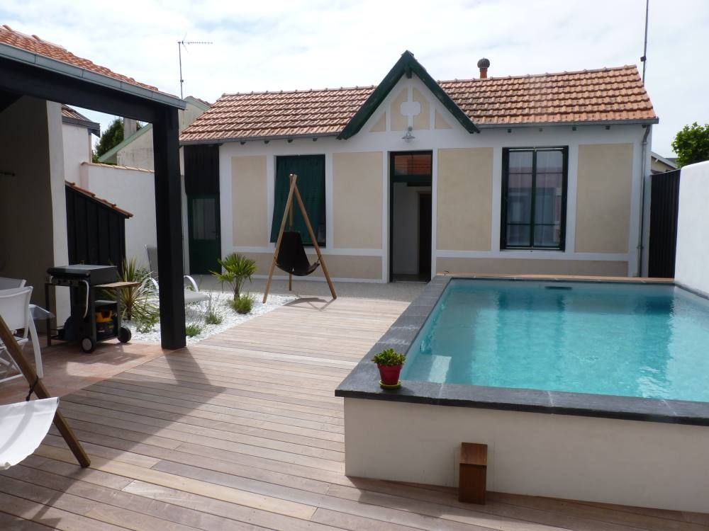 Ch telaillon plage location de vacances maison avec for Chatelaillon piscine