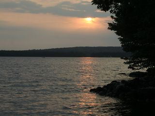 Acton lodge photo - Best spot for sunsets on Great East Lake.