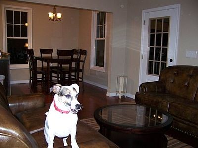 Lost River farmhouse rental - We love dogs and dogs love the cottage