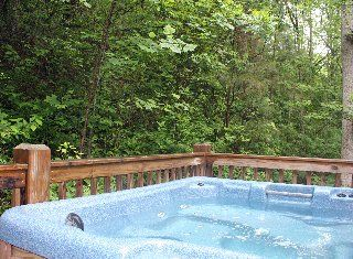 Ellijay cabin photo - Hot tub!
