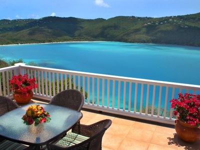 A heavenly view of Magens Bay to wake up to every morning