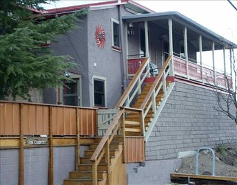 Bisbee studio rental - SunCountryStudio and GuestHouse with views, private decks and a bike rack