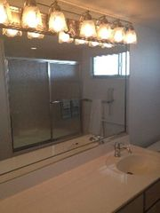 Sanibel Island condo photo - New fixtures, shower door, and jetted tub in Master bath