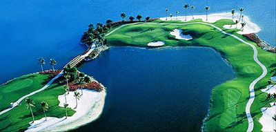 Arial View of One the Top 10 Golf Courses in the United States