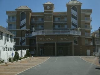 Oceans Mist Ocean City condo photo - Secure building offers 2 assigned parking spaces plus additional guest parking