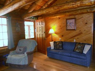 Beaver Lake cabin photo - Living Room Area