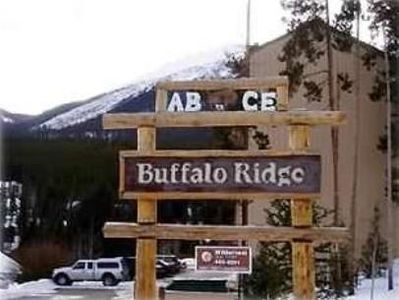 Entrance to Buffalo Ridge Condos