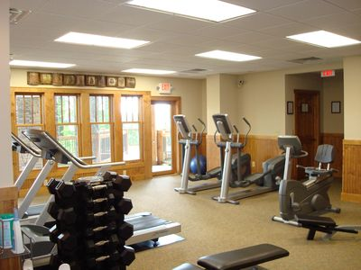Fitness Center-Clubhouse on Ridge