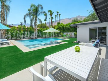 Palm Springs house rental - Mountain Views and New Pool/Spa