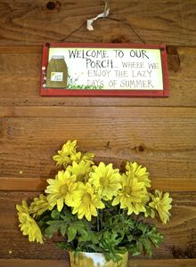 Bastrop cottage rental - Welcome to our Porch...where we enjoy the lazy days of summer!