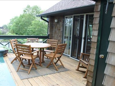 Easton's Point apartment rental - Outdoor Dining Deck