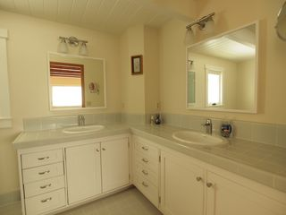Pacific Grove house photo - Master bath features 2 sinks and shower.