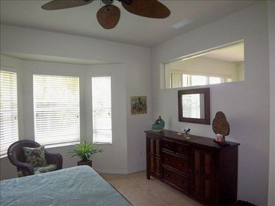 Master Suite has ceiling fan and large walk in closet.