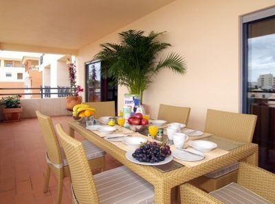 Parque da Corcovada apartment rental - Al fresco dining on Penthouse Balcony, 34-1-3 A