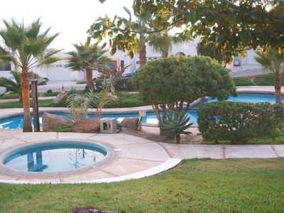 Rosarito Beach villa rental - Pool